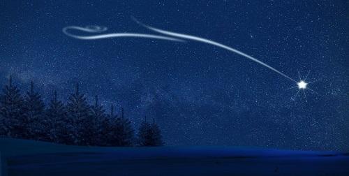 Nacht Nordstern Himmel